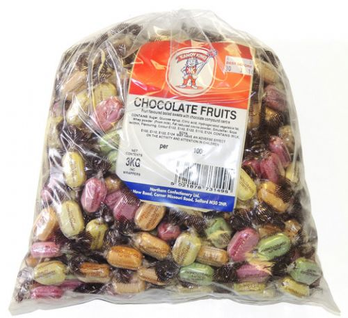B03 CHOCOLATE FILLED FRUITS 3KG
